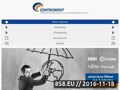 Miniaturka domeny www.centrowent.pl
