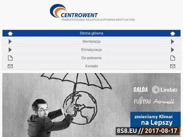 Zrzut strony CENTROWENT Instalacje klimatyzacyjne