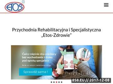 Zrzut strony ETOS rehabilitacja