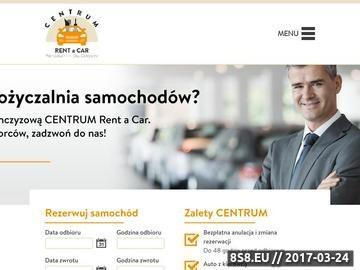 Zrzut strony Wypożyczalnia samochodów Dworzec Centralny