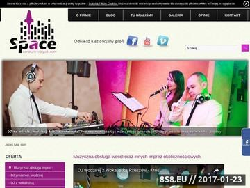 Zrzut strony DJ WODZIREJ z wokalistką na wesele Krosno/ Rzeszów Centrum-Rozrywki.com