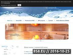 Miniaturka domeny www.centrum-sauny.pl