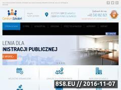 Miniaturka domeny centrum-szkolen.com.pl