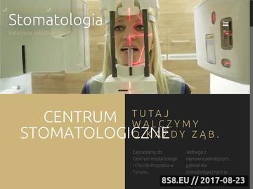 Zrzut strony Klinika Stomatologiczne Toruń | Stomatologia, Implanty