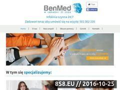 Miniaturka domeny www.centrumben.pl