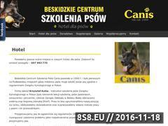 Miniaturka domeny www.centrumcanis.pl