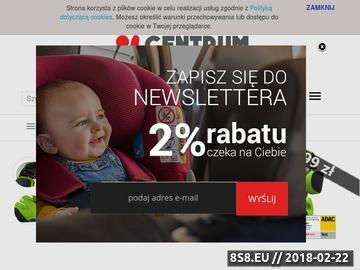 Zrzut strony Fotelik dla noworodka
