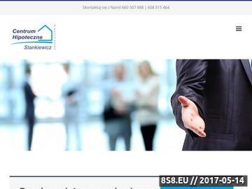 Zrzut strony Centrum hipoteczne Stankiewicz - pośrednictwo