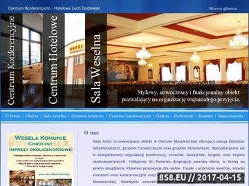 Zrzut strony Hotel Ostrów Mazowiecka