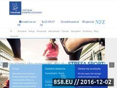 Miniaturka domeny www.centrumkompresjoterapii.pl