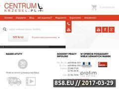 Miniaturka domeny www.centrumkrzesel.pl