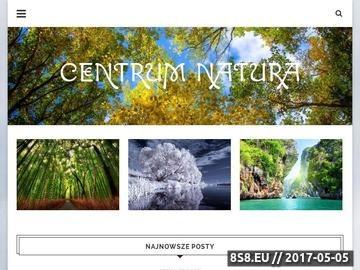 Zrzut strony Centrum Natura