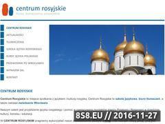 Miniaturka domeny www.centrumrosyjskie.pl