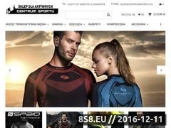 Miniaturka domeny www.centrumsportu.eu