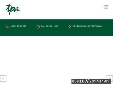 Zrzut strony TPA Poland Dokumentacja cen transferowych