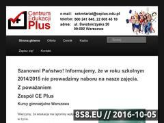 Miniaturka domeny ceplus.edu.pl