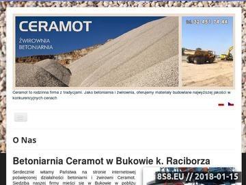 Zrzut strony Ceramot - żwir