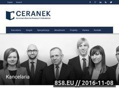 Miniaturka domeny www.ceranek.pl