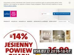 Miniaturka domeny www.cersanit.com.pl