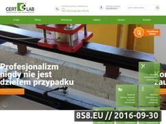 Miniaturka domeny www.cert-lab.pl