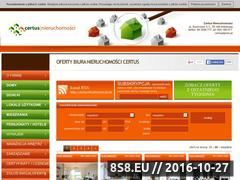 Miniaturka domeny www.certus.nieruchomosci.pl