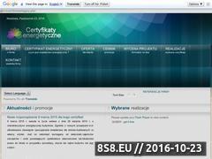 Miniaturka domeny certyfikaty.pracownia-projekty.pl