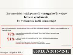 Miniaturka domeny certyfikatyssl.info