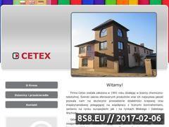 Miniaturka domeny www.cetex.pl