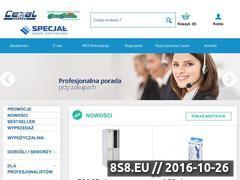Miniaturka domeny www.cezal24.pl