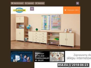 Zrzut strony Szafki szkolne od CEZAS-GLOB