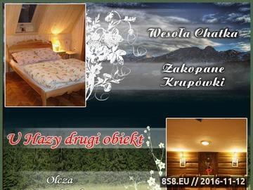 Zrzut strony Noclegi w górach - Wesoła Chatka