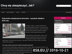 Miniaturka domeny www.chce-sie-ubezpieczyc.pl