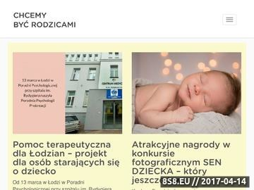 Zrzut strony Serwis dla rodiców Chcemy Być Rodzicami