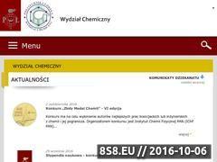 Miniaturka domeny chemia.p.lodz.pl