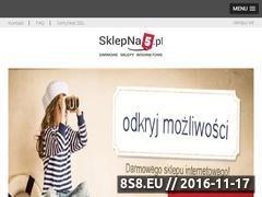Miniaturka domeny www.chemikalia.sklepna5.pl