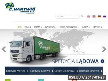 Zrzut strony Transport i spedycja