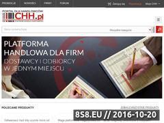 Miniaturka domeny www.chh.pl