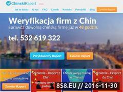 Miniaturka domeny www.chinskiraport.pl