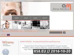 Miniaturka domeny www.chirurgia-alma-medica.pl