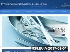 Miniaturka domeny www.chirurgia-proktologia.rzeszow.pl