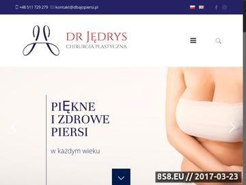 Zrzut strony Centrum medyczne Dbaj o Piersi