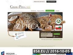 Miniaturka domeny www.chlebzpieca.net