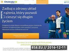 Miniaturka domeny www.cholester.pl
