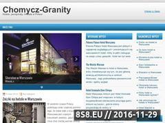 Miniaturka domeny www.chomycz-granity.pl