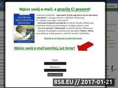 Miniaturka domeny www.chorobarefluksowa.net