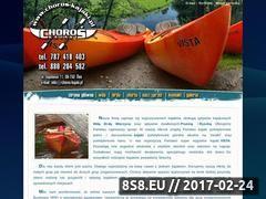 Miniaturka domeny www.choros-kajaki.pl