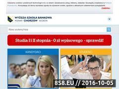 Miniaturka domeny www.chorzow.wsb.pl