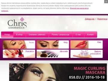 Zrzut strony E-Style Chris Cosmetics