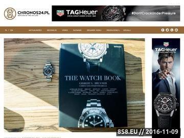 Zrzut strony Portal o markowych zegarkach luksusowych
