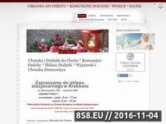 Miniaturka domeny chrzest-slub-komunia.pl